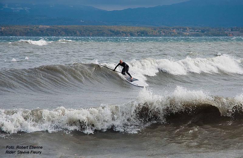 Wellenreiten Auf Dem Genfersee Supsurf Ch